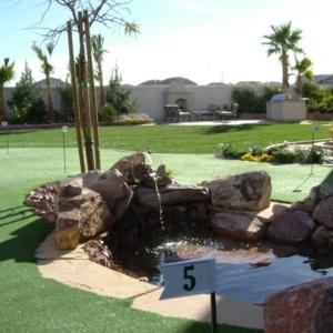 Artificial Turf Las Vegas Backyard